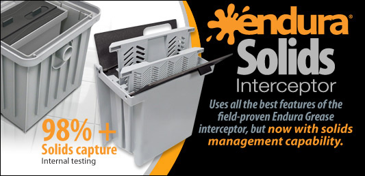 Solids Interceptor 2 For Canplas Grease Traps