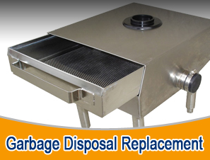 commercial garbage disposal replacement strainer