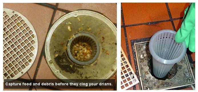 Plastic Floor Drain Strainer To Prevent