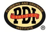 Grease Trap PDI certification