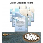quickcleaning drain foam fruit fly exterminator