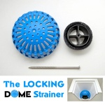 The Locking Dome Strainer 3""