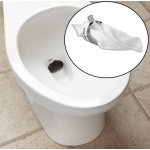 Traptex hopper guard for toilet